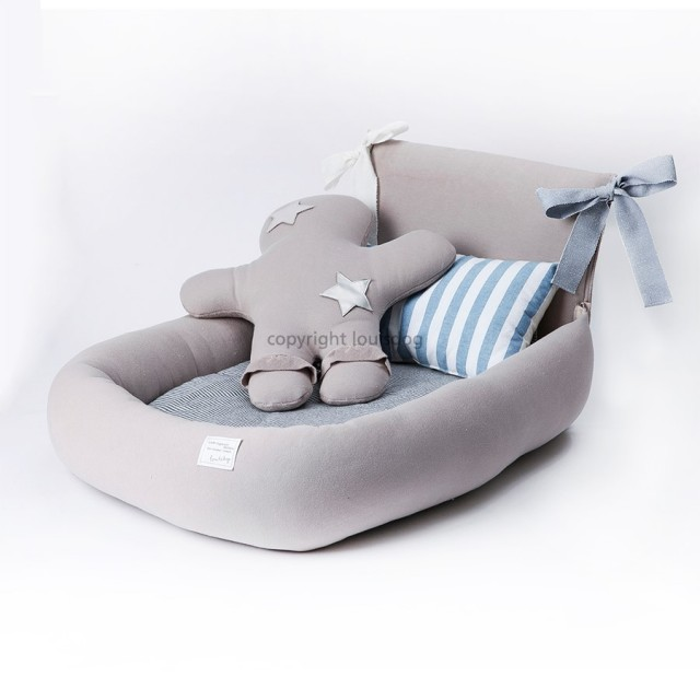 Louisdog(ルイスドッグ)犬用ベッド Organic Happy Sunday Bed オーガニック ハッピー サンデー ベッド