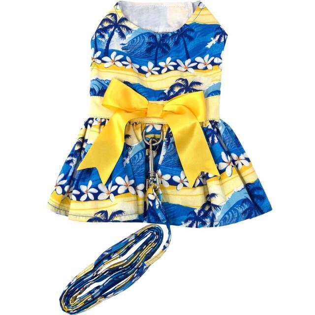 Doggie Design(ドギーデザイン)ドッグウェア Catching Waves Dog Dress キャッチング ウェイブズ ハーネス ドレス