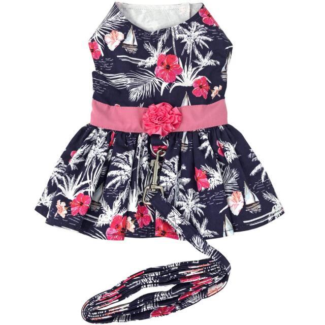 Doggie Design(ドギーデザイン)ドッグウェア Moonlight Sails Dog Dress ムーンライト セイルズ ハーネス ドレス
